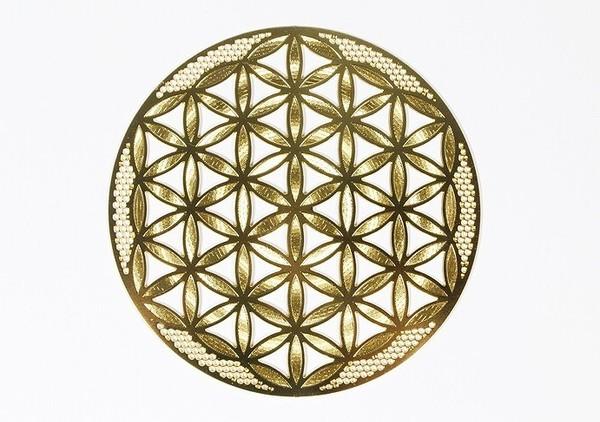神聖幾何学模様 エナジープレート