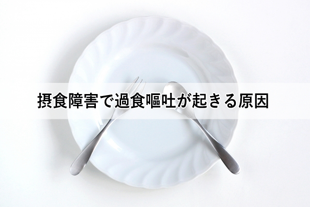 摂食障害で過食嘔吐が起きる原因