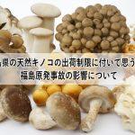 福島県の天然キノコの出荷制限に付いて思うこと-01