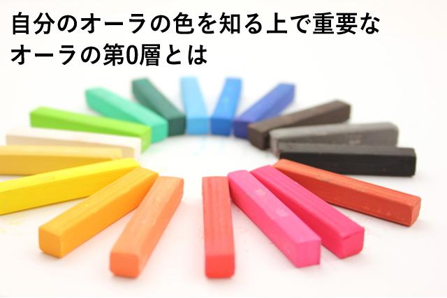 自分のオーラの色を知る上で重要なオーラの第0層とは