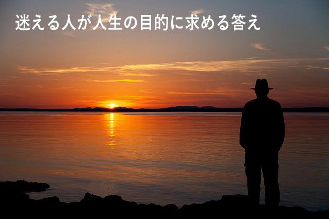 迷える人が人生の目的に求める答え