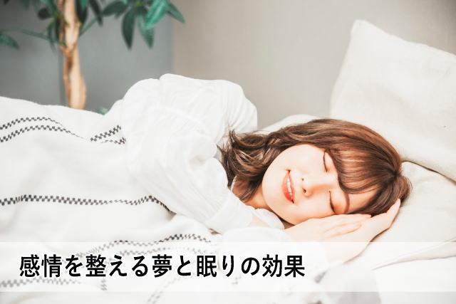 感情を整える夢と眠りの効果