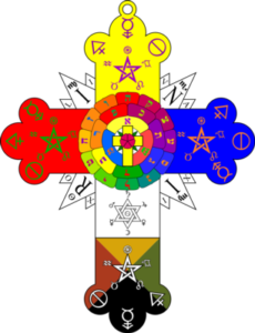 黄金の夜明け団の薔薇十字