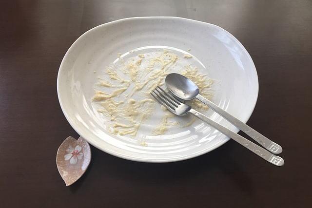 簡単カルボナーラを完食