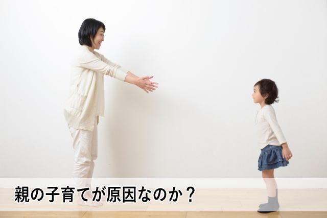 親の子育てが原因なのか?