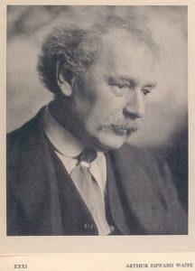 アーサーエドワードウェイト1921年