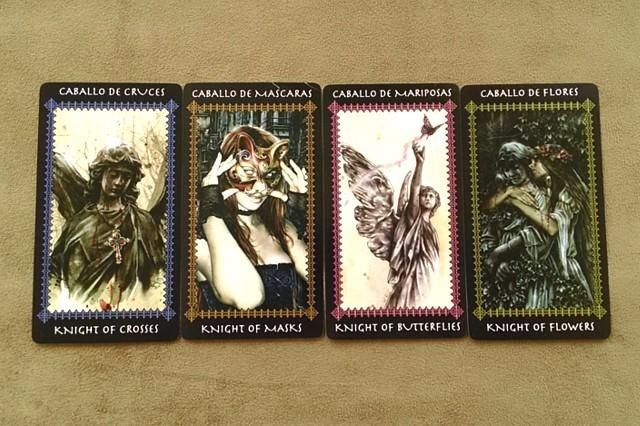 タロットカード ファボール ナイト(騎士)のカード