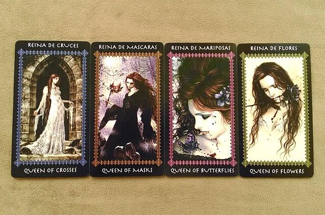 タロットカード ファボール クイーン(女王)のカード