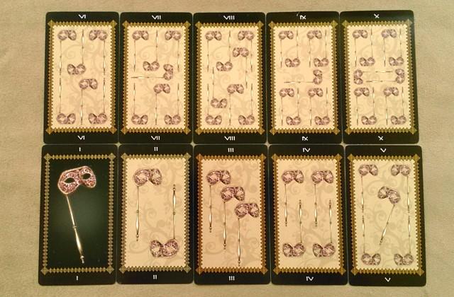 タロットカード ファボール マスク(コイン)1~10