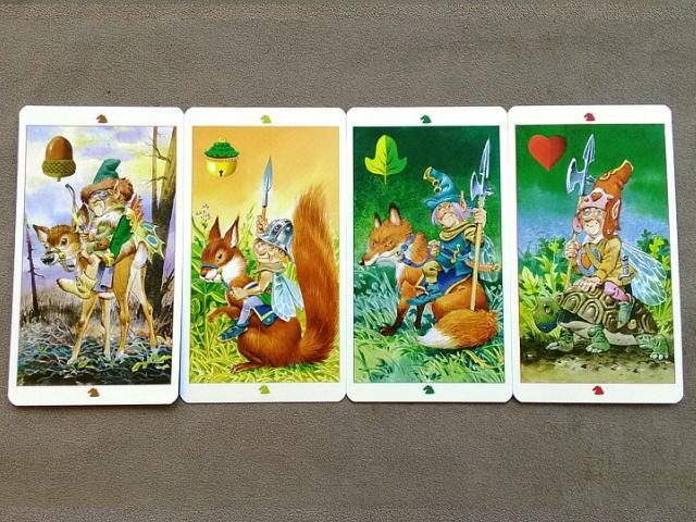 フェアリータロットカード ナイト(騎士)のカード