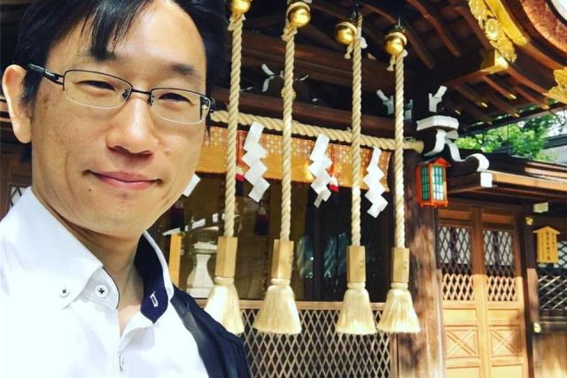 京都 護王神社にて