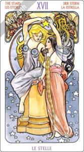 アールヌーボ・タロット 星のカード