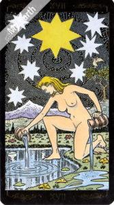 ゴールデン・ユニバーサル・タロット 星のカード