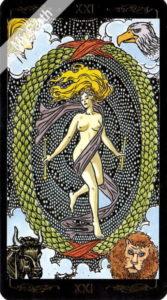 ゴールデン・ユニバーサル・タロット 世界のカード