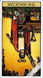 タロットカード 魔術師 逆位置