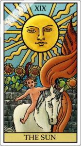 タロットカード 太陽