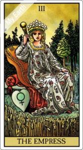 タロットカード 女帝