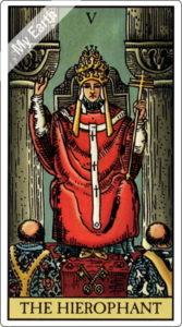 タロットカード 教皇