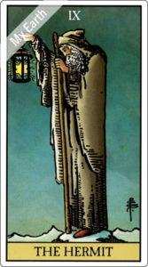 タロットカード 隠者