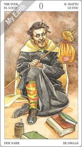 ソーサラーズタロット 愚者のカード