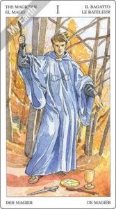 ソーサラーズタロット 魔術師のカード