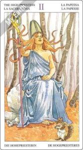 ソーサラーズタロット 女教皇のカード