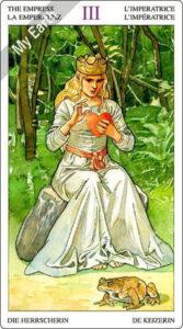ソーサラーズタロット 女帝のカード