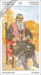 ソーサラーズタロット 皇帝のカード