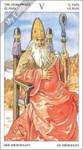 ソーサラーズタロット 教皇のカード