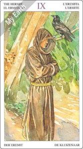 ソーサラーズタロット 隠者のカード