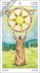 ソーサラーズタロット 運命の輪のカード