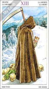ソーサラーズタロット 死神のカード