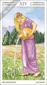 ソーサラーズタロット 節制のカード