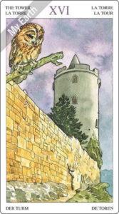 ソーサラーズタロット 塔のカード