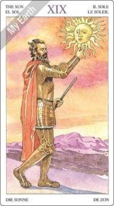 ソーサラーズタロット 太陽のカード