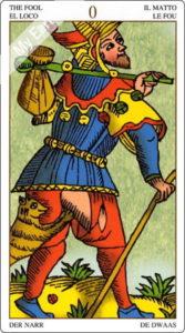 ユニバーサル・マルセイユ 愚者のカード