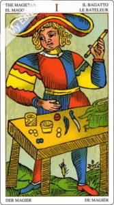 ユニバーサル・マルセイユ 魔術師のカード