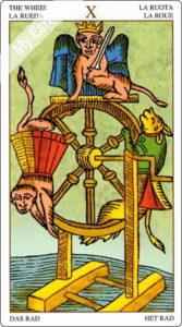 ユニバーサル・マルセイユ 運命の輪のカード