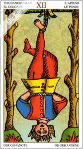 ユニバーサル・マルセイユ 吊られた男のカード