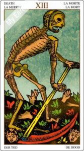 ユニバーサル・マルセイユ 死神のカード