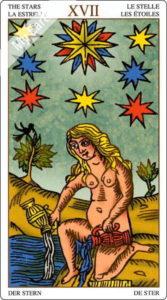 ユニバーサル・マルセイユ 星のカード