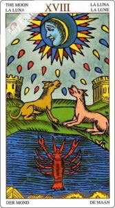 ユニバーサル・マルセイユ 月のカード