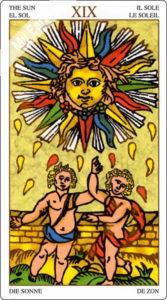 ユニバーサル・マルセイユ 太陽のカード