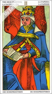 ユニバーサル・マルセイユ 女教皇のカード