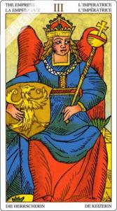 ユニバーサル・マルセイユ 女帝のカード