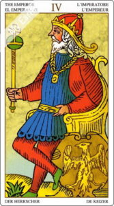 ユニバーサル・マルセイユ 皇帝のカード