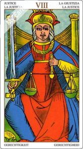 ユニバーサル・マルセイユ 正義のカード