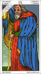 ユニバーサル・マルセイユ 隠者のカード